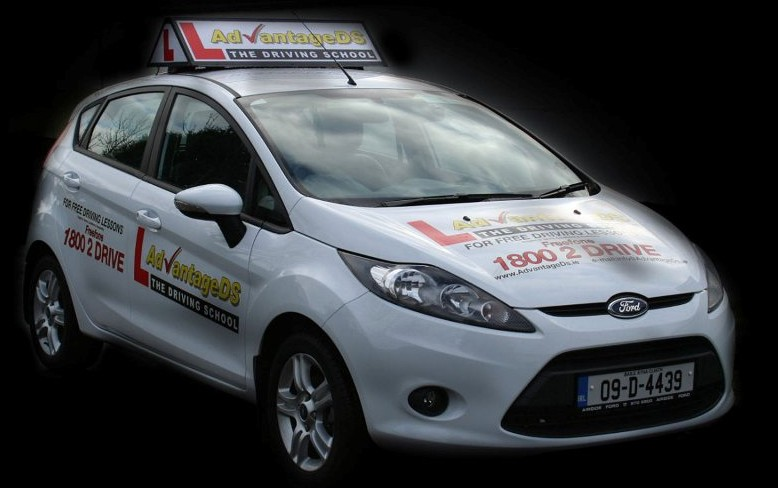 One of our Advantage Driving School Ford Fiestas