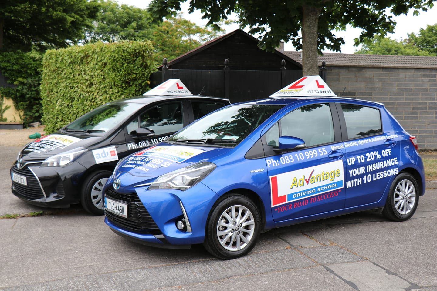 Manual, Electric, Hybrid and Automatic Driving Lessons.